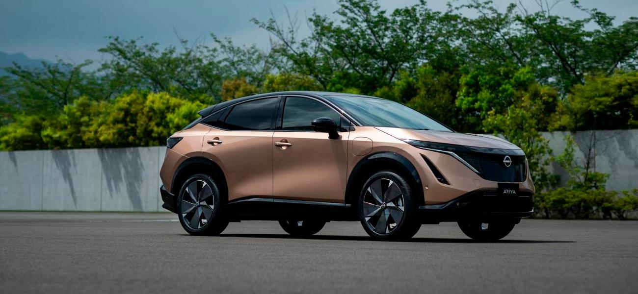Começa uma nova era, com a chegada do Nissan ARIYA